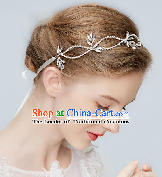Top Grade Wedding Hair Accessories Princess Crystal Hair Clasp for Women