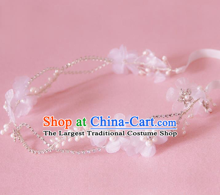 Handmade Wedding Hair Accessories Baroque Bridal Hair Clasp Headwear for Women