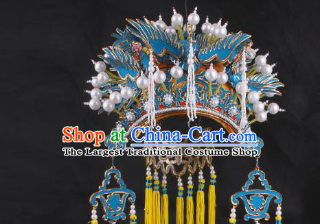 Top Grade Chinese Beijing Opera Hair Accessories Peking Opera Diva Phoenix Coronet for Women