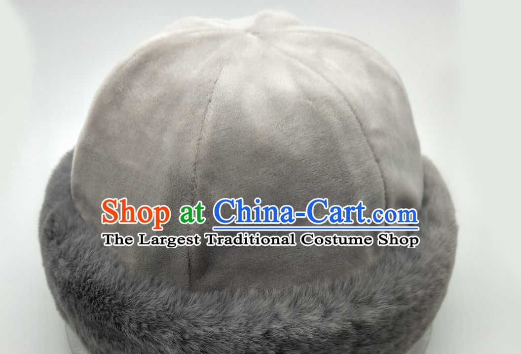 Chinese Classical Handmade Fur Hat Winter Hat for Men