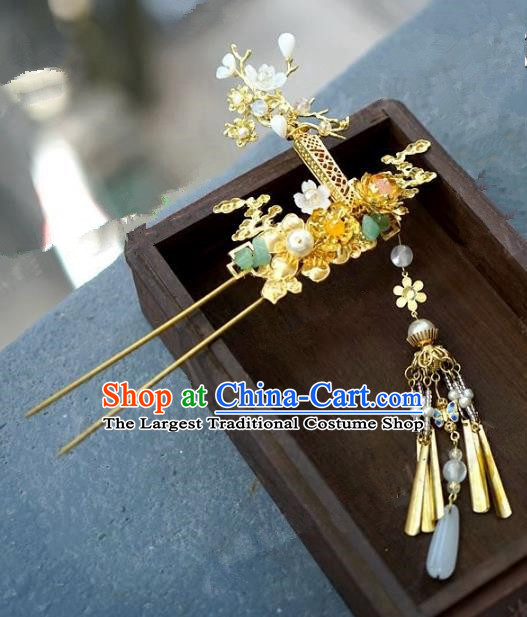 Chinese Handmade Ancient Hair Accessories Ancient Hanfu Hair Clip Hairpins for Women