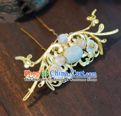 Chinese Handmade Ancient Hair Accessories Ancient Hanfu Hair Stick Hairpins for Women
