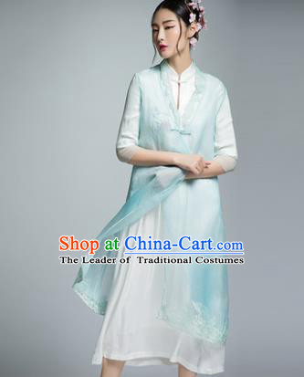 Chinese Traditional Tang Suit Cheongsam China National Qipao Dress for Women