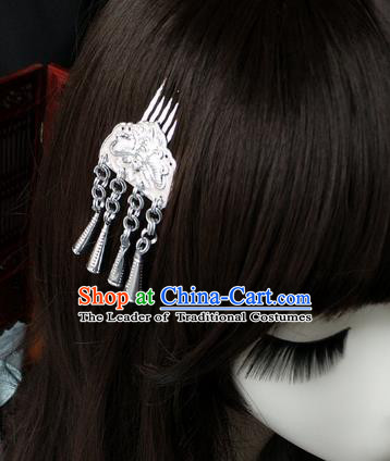Chinese Traditional Ancient Hair Accessories Hanfu Butterfly Hair Comb Hair Stick Headwear for Women