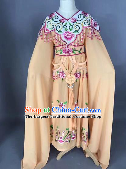Traditional Chinese Peking Opera Costume Beijing Opera Actress Ginger Dress for Kids