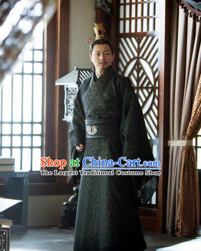 Chinese Ancient Marquis Costumes Legend Of Fu Yao Traditional Prime Minister Clothing for Men
