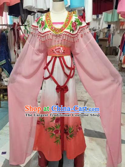 Chinese Huangmei Opera Young Lady Princess Hanfu Dress Traditional Beijing Opera Diva Costume for Adults
