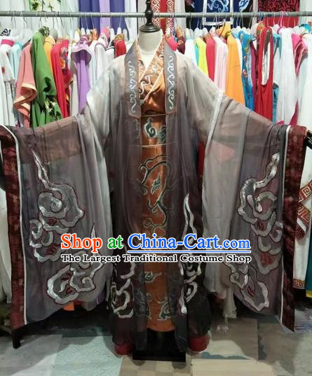 Chinese Beijing Opera Prime Minister Clothing Traditional Peking Opera Costumes for Adults