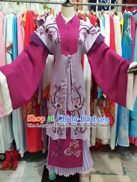 Chinese Huangmei Opera Rich Women Dress Traditional Beijing Opera Diva Costume for Adults