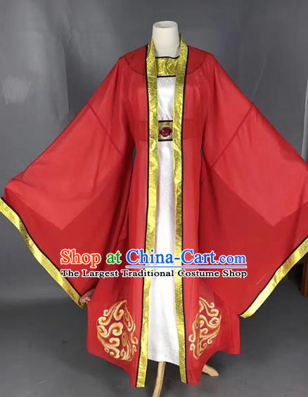 Chinese Beijing Opera Niche Robe Traditional Peking Opera Bridegroom Costume for Adults