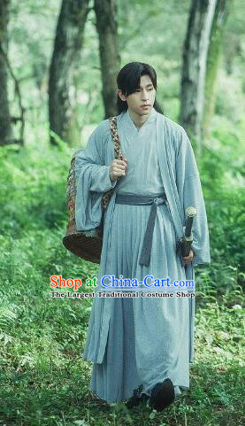 The Honey Sank Like Frost Ashes of Love Chinese Ancient Swordsman Nobility Childe Costume for Men