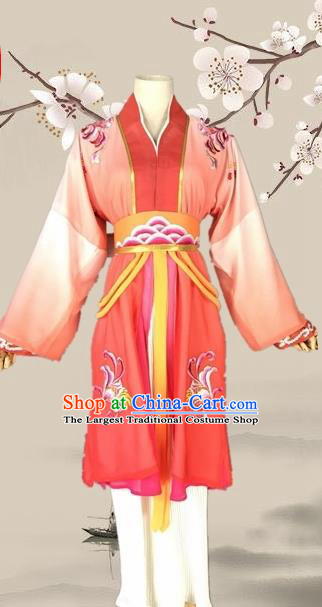 Chinese Ancient Swordswoman Red Costume Traditional Beijing Opera Martial Arts Women Dress for Adults