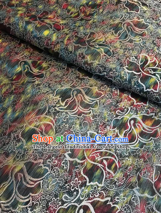 Asian Chinese Traditional Cheongsam Brocade Fabric Silk Fabric Chinese Fabric Material