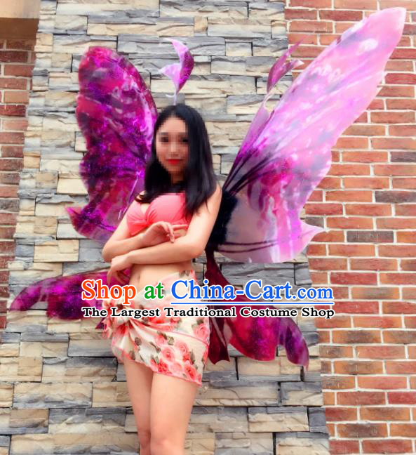 Stage Performance Brazilian Carnival Butterfly Wings Miami Deluxe Wings for Women