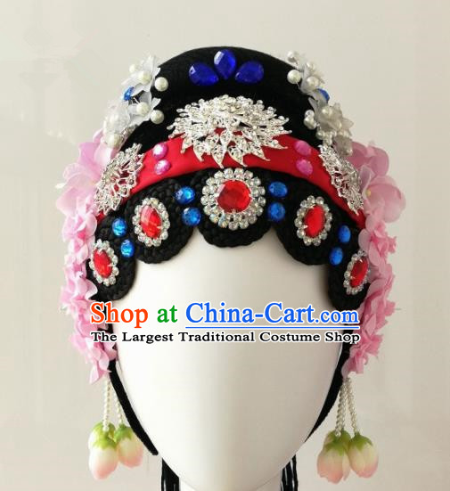 Chinese Traditional Beijing Opera Diva Hair Accessories Headdress for Women
