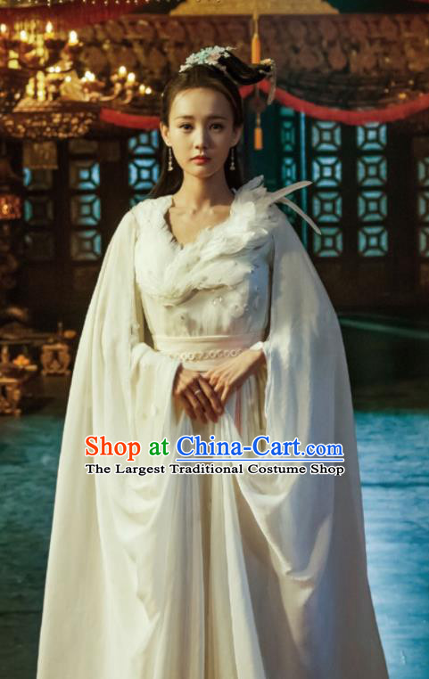 Chinese Ancient Princess Costume Traditional Hanfu Dress Fairy Clothing for Women