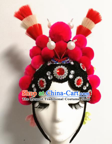 Chinese Traditional Ancient Classical Dance Hair Accessories Beijing Opera Hair Clasp for Women