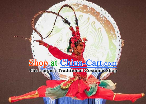 Chinese Traditional Folk Dance Beijing Opera Costume Classical Dance Clothing for Women