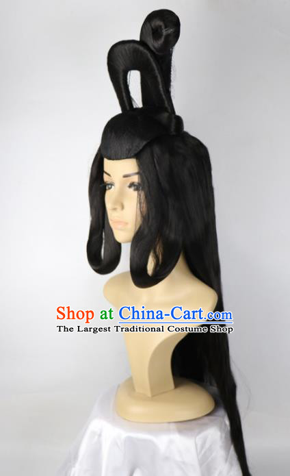 Chinese Traditional Wigs Ancient Fairy Wigs for Women