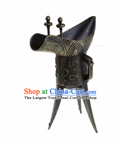 Chinese Traditional Drama Props Accessories Ancient Wine Goblet