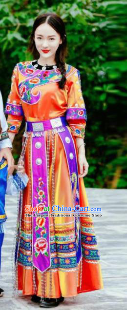 Chinese Traditional Miao Nationality Dance Costumes for Women