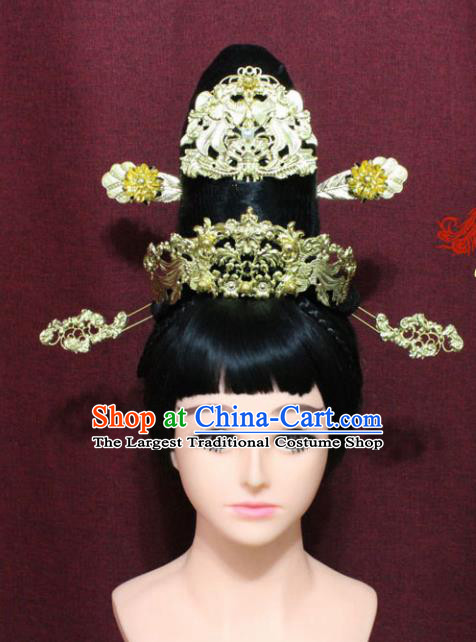 Chinese Handmade Princess Hairpins Ancient Hair Accessories for Women