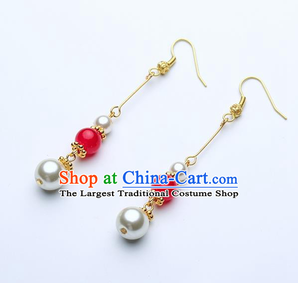 Asian Chinese Traditional Jewelry Accessories Hanfu Earrings for Women