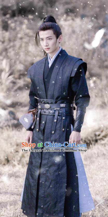 The Rise of Phoenixes Chinese Ancient Swordsman Clothing Tang Dynasty Young Hero Costumes for Men
