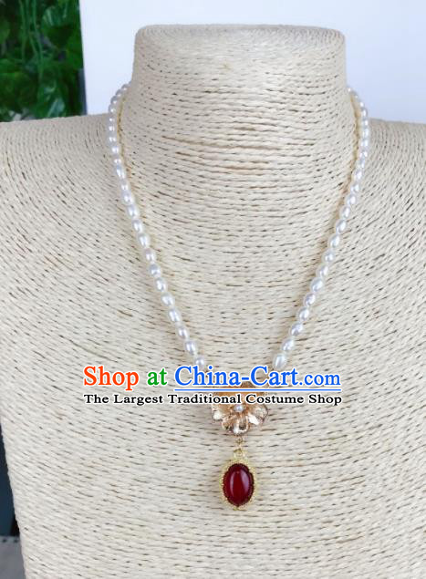 Top Grade Chinese Jewelry Accessories Wedding Hanfu Necklace for Women