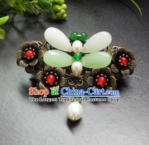 Chinese Ancient Handmade Hanfu Hair Claw Butterfly Hairpins Hair Accessories for Women