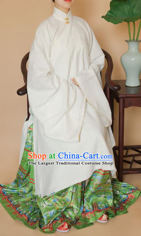 Top Grade Chinese Ancient Ming Dynasty Palace Lady Hanfu Dress for Women