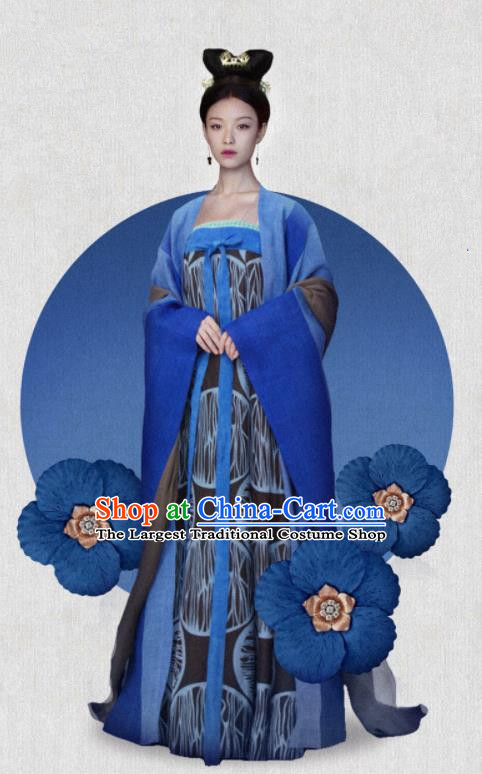 The Rise of Phoenixes Traditional Chinese Ancient Hanfu Dress Tang Dynasty Princess Embroidered Costume for Women