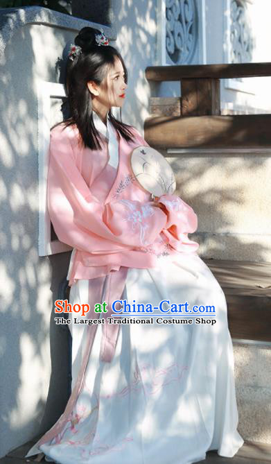 Chinese Ancient Cosplay Fairy Costumes Traditional Ming Dynasty Hanfu Dress for Women