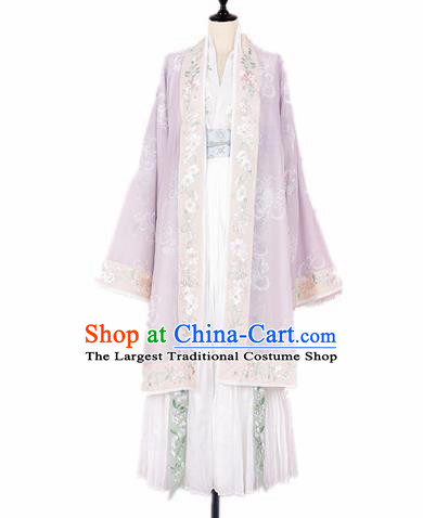 Chinese Ancient Fairy Costumes Traditional Jin Dynasty Princess Hanfu Dress for Women