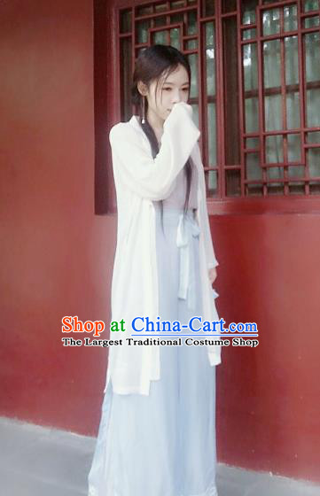 Chinese Ancient Fairy Costumes Traditional Song Dynasty Young Lady Hanfu Dress for Women