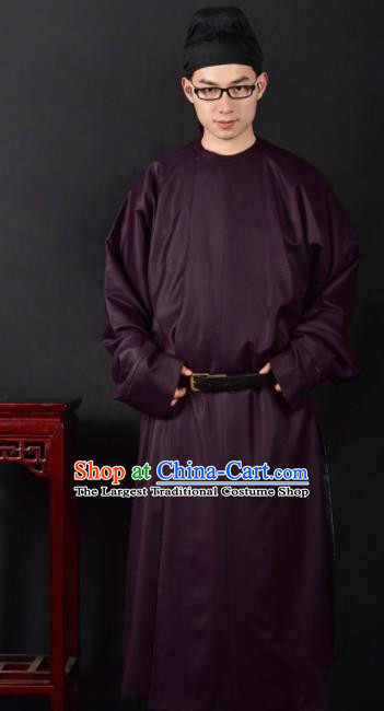 Chinese Ancient Swordsman Clothing Traditional Tang Dynasty Minister Costume for Men