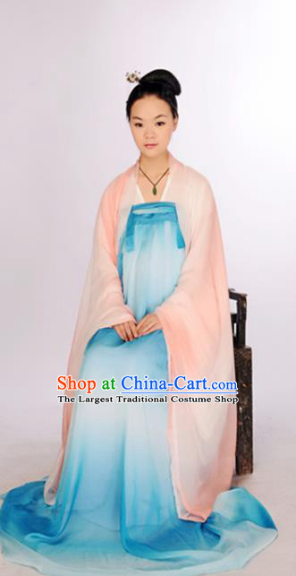 Chinese Traditional Tang Dynasty Palace Princess Hanfu Dress Ancient Nobility Lady Costume for Women