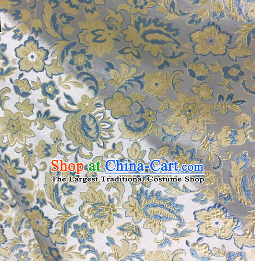 Chinese Traditional Silk Fabric Cheongsam Tang Suit Brocade Cloth Drapery