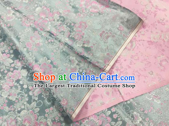 Chinese Traditional Silk Fabric Cheongsam Tang Suit Brocade Cloth Material Drapery