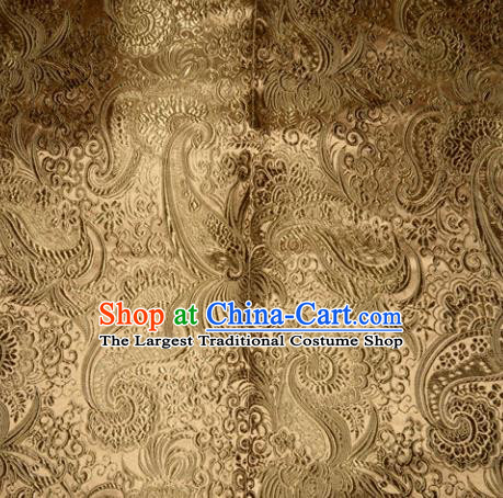 Chinese Traditional Cheongsam Silk Fabric Tang Suit Brocade Classical Pattern Cloth Material Drapery