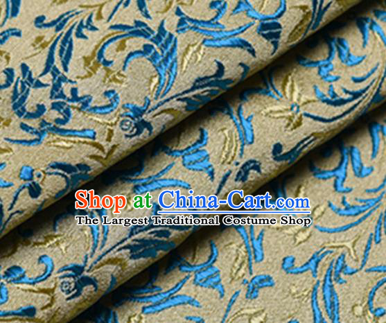 Chinese Traditional Silk Fabric Tang Suit Brocade Cloth Cheongsam Material Drapery
