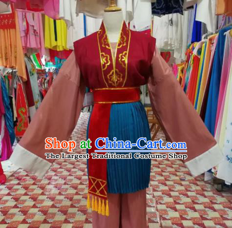 Chinese Traditional Beijing Opera Old Women Clothing Peking Opera Costume for Adults