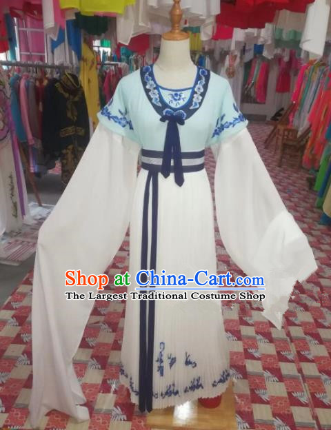 Chinese Traditional Beijing Opera Maidservants Dress Peking Opera Costume for Adults