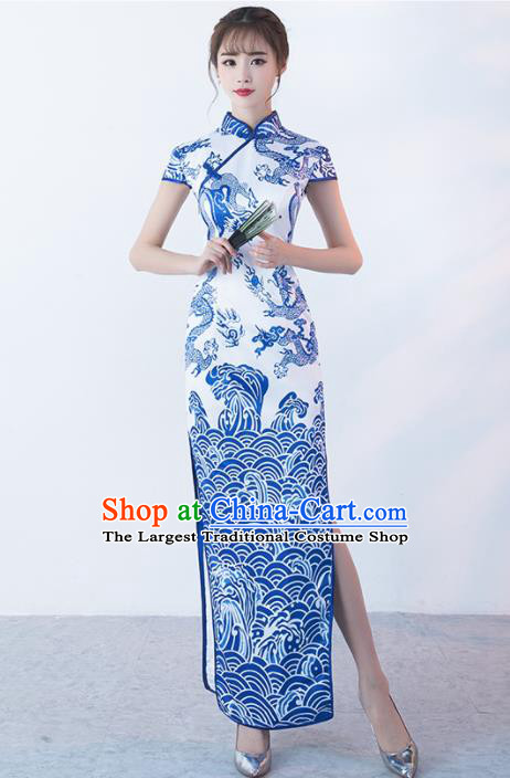 Top Chinese Traditional Qipao Dress Classical Costume Cheongsam for Women