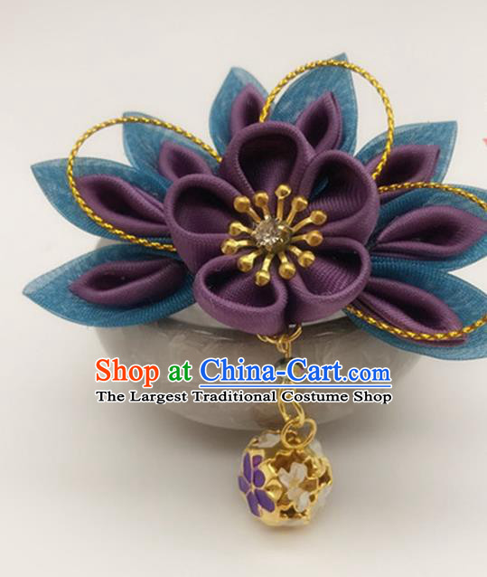 Asian Japanese Traditional Kimono Hair Stick Japan Handmade Classical Hair Accessories for Women