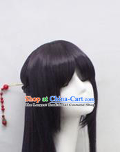 Chinese Ancient Cosplay Princess Wigs Peri Chignon Handmade Wig Sheath