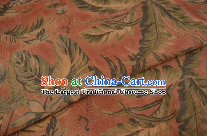 Asian Chinese Traditional Pattern Silk Design Brocade Fabric Chinese Gambiered Guangdong Gauze Material
