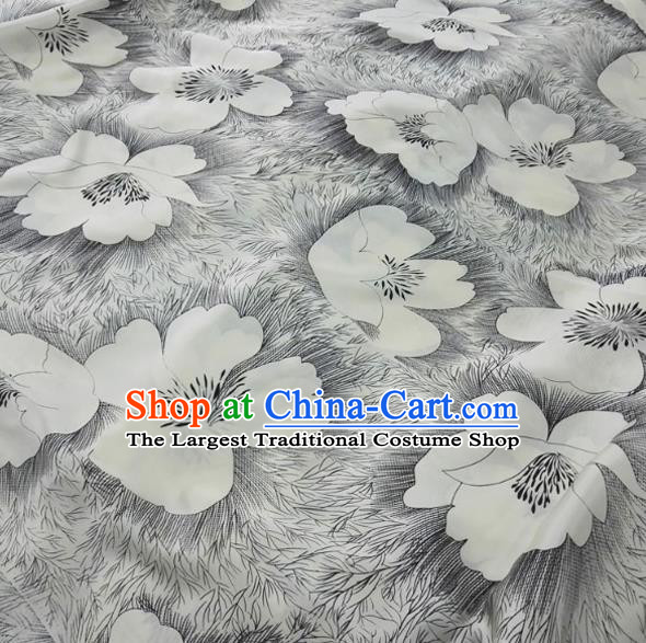 Asian Chinese Traditional Pattern Design Brocade Silk Fabric Chinese Material