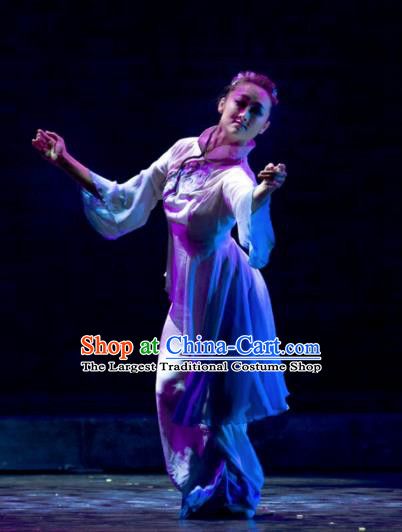 Chinese Traditional Classical Dance Costumes Stage Performance Clothing for Women