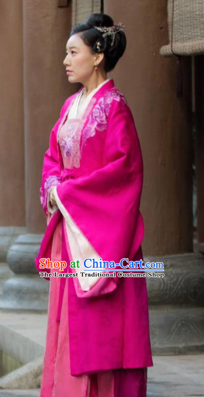 The Story of MingLan Chinese Ancient Song Dynasty Drama Aristocratic Concubine Historical Costumes for Women